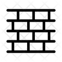 Bricks Wall Partition Brick Partition Icon