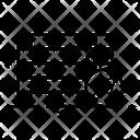 Bricklayer Brickwall Masonry Icon
