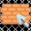 Brickwall Brick Worker Icon