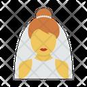Bridal Wedding Marriage Icon