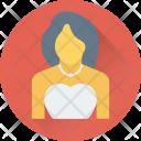 Bridal Bride Girl Icon