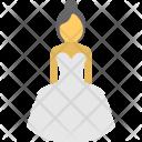 Bridal Bride Marriage Icon