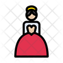 Bridal Girl Wedding Icon