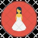 Bridal Female Women Icon