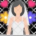 Bride Wedding Love Icon