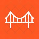 Bridge Construction Road Icon