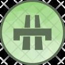 Bridge Traffic Solution Icon