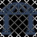 Bridge Motorway Passage Icon