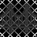 Bridge Suspension Bridge Cable Bridge Icon