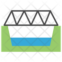Bridge Cross Overpass Icon
