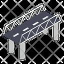 Bridge Overpass Bridge Base Icon
