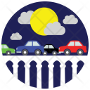 Bridge Traffic Car Icon