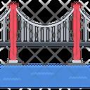 Bridge Water Sea Icon