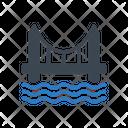Bridge Sea River Icon