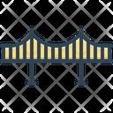 Bridge Viaduct Flyover Icon