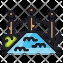 Bridge Ecology Energy Icon