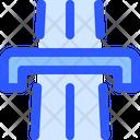 Map Navigation Bridge Icon