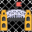 Overpass Bridge Flyover Icon