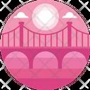 Bridge Architecture City Icon