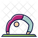 Bridge Bow Bow Pose Icon