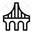Architecture Bridges Wires Icon