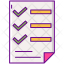 Brief Client Plan Icon
