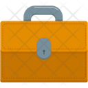 Brief Case Business Bag Icon