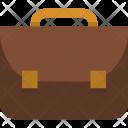 Schoolbag Briefcase Education Icon