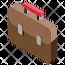 Briefcase Office Case Laptop Bag Icon