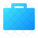 Briefcase Icon in Gradient Style