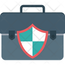 Bag Safety Briefcase Protection Protection Icon