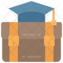Teachers Breifcase Equipment Bag Icon
