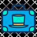 Magician Bag Magician Briefcase Magician Suitcase Icon