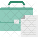 Briefcase Business Bag Office Bag Icon