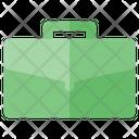 Ceo Briefcase Bag Icon