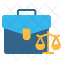 Lawyer Briefcase Suitcase Icon