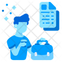 Briefcase Business People Icon