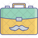 Briefcase Business Case Laptop Bag Icon
