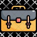 Briefcase Bag Education Icon