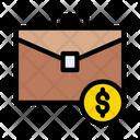 Money Bag Briefcase Icon