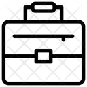 Suitcase Businessman Project Icon