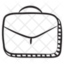 Briefcase Business Portfolio Luggage Bag Icon