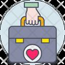 Business Briefcase Work Icon