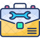 Briefcase Repair Business Icon