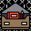 Briefcase School Study Icon