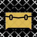 Briefcase Job Student Icon