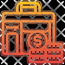Briefcase Money Finance Icon