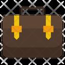 Briefcase Office Bag Suitcase Icon