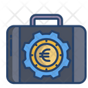 Briefcase Suitcase Bag Icon