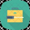 Briefcase Content Data Icon